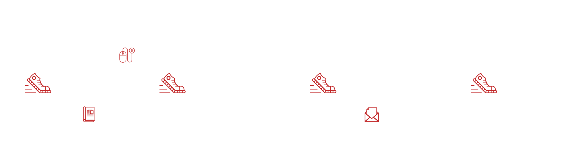 Multiple marketing channel Infographic